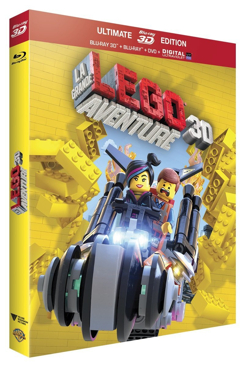 sallesobscures - test blu-ray 3d la grande aventure lego