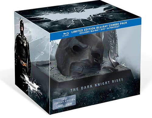 The Dark Knight Rises en Blu-ray : ni version longue ou Director's cut, ni scènes coupées dans les bonus